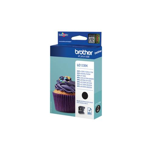 Brother LC-123BK ink cartridge Original Black 1 pc(s) product photo  L