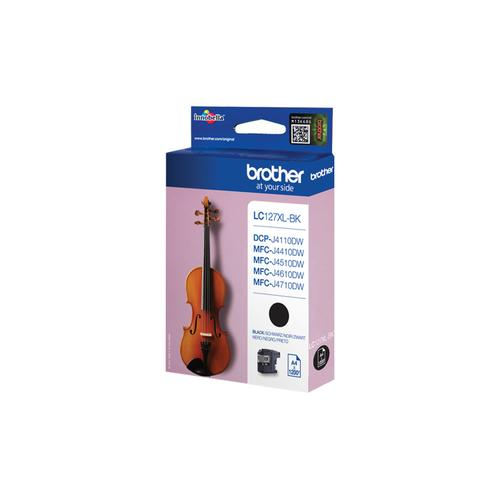 Brother LC-127XLBK ink cartridge Original Black product photo  L