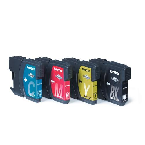 Brother LC-1100VALBP ink cartridge 4 pc(s) Original Black, Cyan, Magenta, Yellow product photo