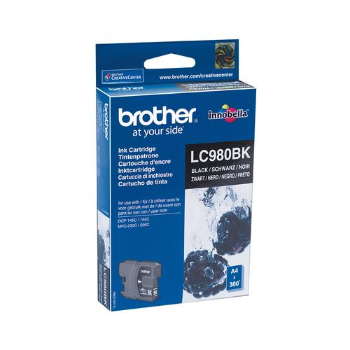 Brother LC-980BK ink cartridge 1 pc(s) Original Black product photo