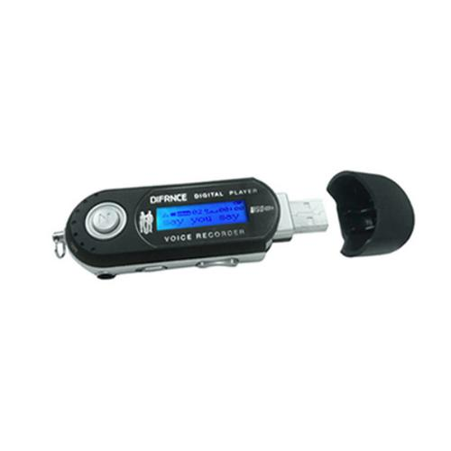 Difrnce MP851 MP3 player 4 GB Black product photo