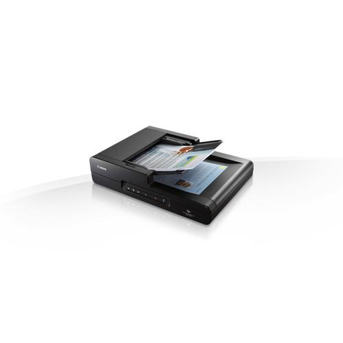 Canon imageFORMULA DR-F120 Flatbed & ADF scanner 600 x 600 DPI A4 Black product photo