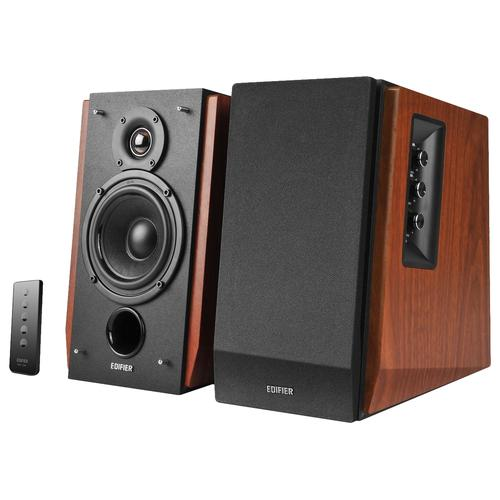 Edifier R1700BT loudspeaker 2-way 66 W Black,Wood Wireless 3.5mm/USB/Bluetooth product photo