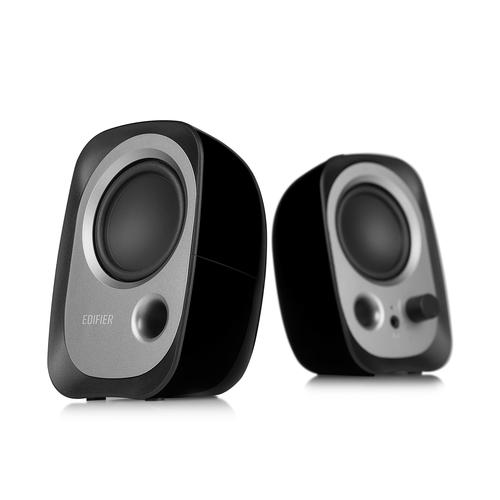 Edifier R12U loudspeaker 4 W Black,Silver Wired 3.5 mm product photo