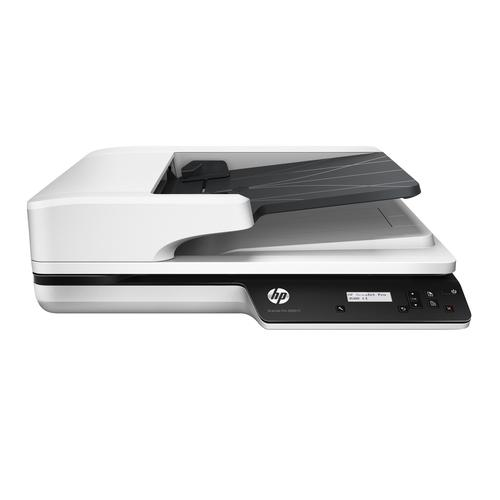 HP Scanjet Pro 3500 f1 Flatbed & ADF scanner 1200 x 1200 DPI A4 Grey product photo