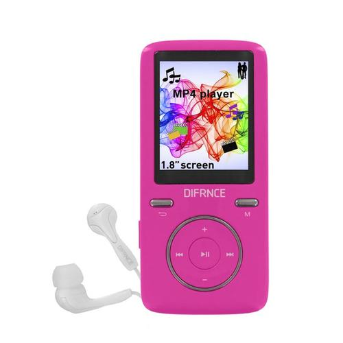Difrnce MP1805 MP4 player 8 GB Pink product photo