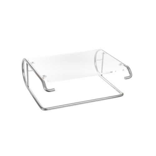 R-Go Tools R-Go Steel Essential Monitor Stand, silver product photo