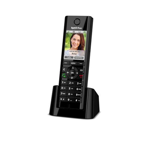 AVM FRITZ!Fon C5 International DECT telephone Black Caller ID product photo