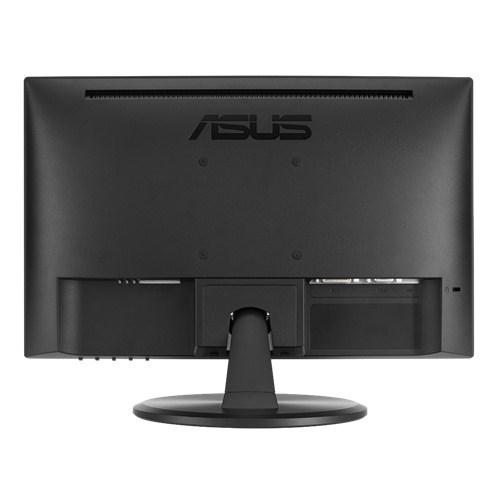 "ASUS VT168N point touch monitor 39.6 cm (15.6"") 1366 x 768 pixels Black Multi-touch product photo  L"