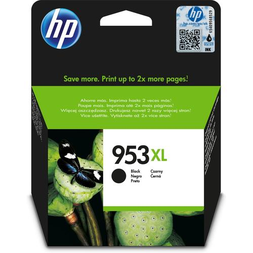 HP 953XL ink cartridge Original High (XL) Yield Black product photo