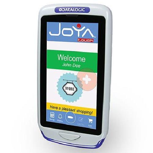 "Datalogic Joya Touch Basic handheld mobile computer 10.9 cm (4.3"") 854 x 480 pixels Touchscreen 305 g Grey, Red product photo"