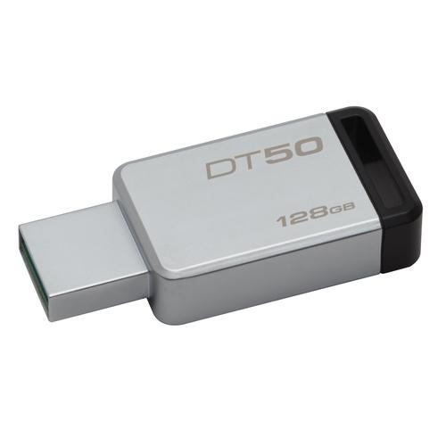 Kingston Technology DataTraveler 50 128GB USB flash drive USB Type-A 3.2 Gen 1 (3.1 Gen 1) Black,Silver product photo