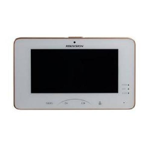 "Hikvision Digital Technology DS-KH8301-WT video intercom system 17.8 cm (7"") White 0.3 MP product photo"