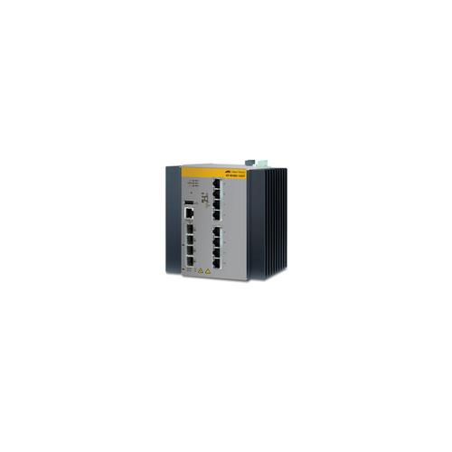 Allied Telesis AT-IE300-12GT-80 Managed L3 Gigabit Ethernet (10/100/1000) Black,Grey product photo  L