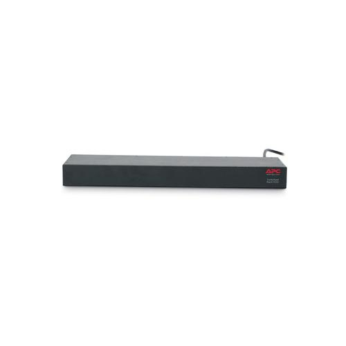 APC AP7921B power distribution unit (PDU) 0U/1U Black 8 AC outlet(s) product photo  L