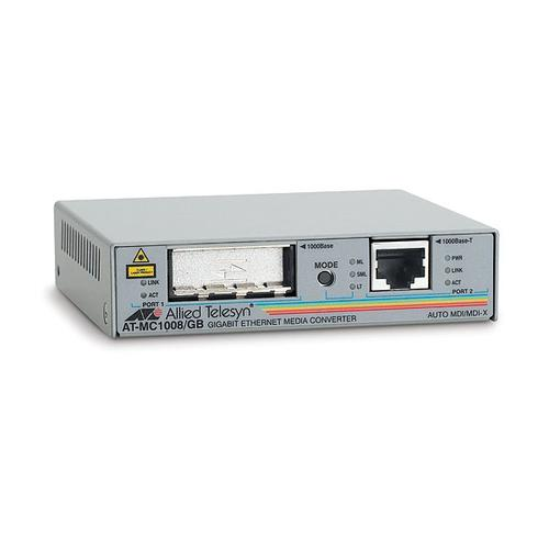 Allied Telesis AT-MC1008/GB network media converter 1000 Mbit/s product photo  L