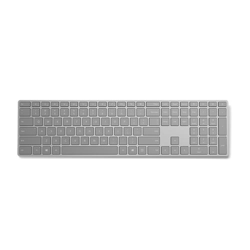 Microsoft 3YJ-00007 mobile device keyboard Dutch Gray Bluetooth product photo