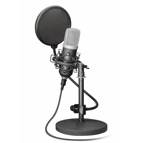 Trust 21753 microphone Studio microphone Black product photo