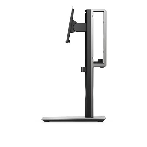 "DELL MFS18 flat panel desk mount 68.6 cm (27"") Freestanding Black,Silver product photo"