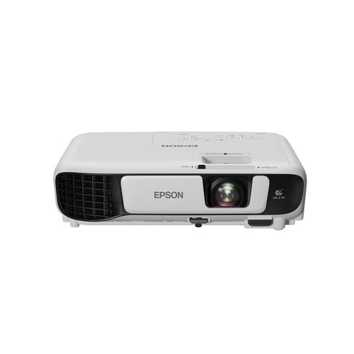 Epson EB-S41 data projector 3300 ANSI lumens 3LCD SVGA (800x600) Desktop projector White product photo