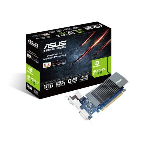 ASUS 90YV0AL0-M0NA00 graphics card NVIDIA GeForce GT 710 1 GB GDDR5 product photo