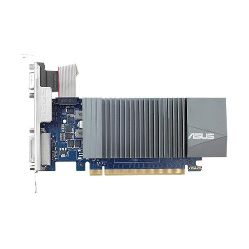 ASUS 90YV0AL0-M0NA00 graphics card NVIDIA GeForce GT 710 1 GB GDDR5 product photo  L