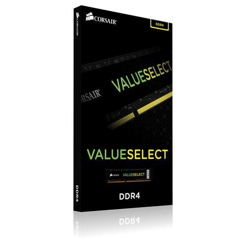 Corsair ValueSelect 4 GB, DDR4, 2666 MHz memory module product photo  L