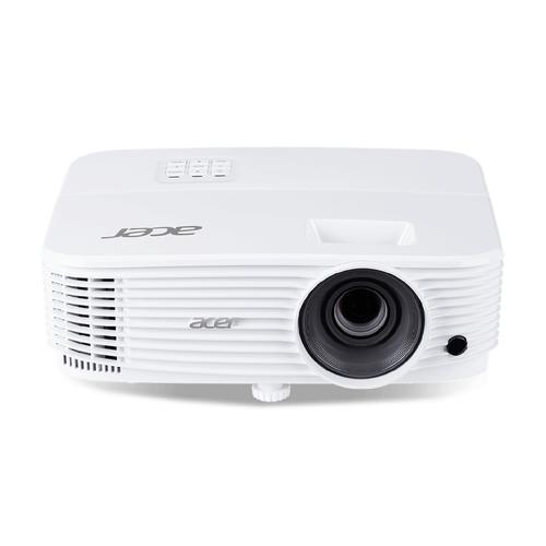 Acer P1350W data projector 3700 ANSI lumens DLP WXGA (1280x800) 3D Ceiling-mounted projector White product photo
