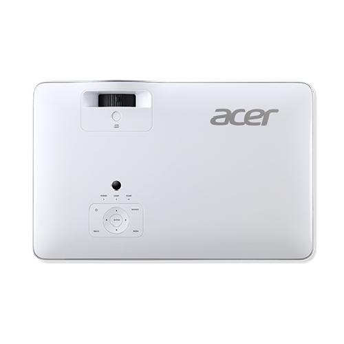 Acer VL7860 data projector 3000 ANSI lumens DLP 2160p (3840x2160) Ceiling-mounted projector Silver, White product photo  L