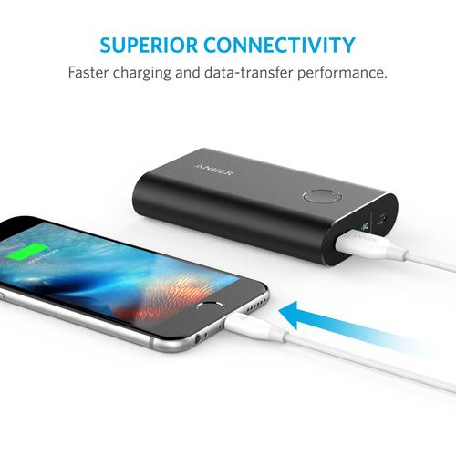 Anker PowerLine 3ft Lightning Combo 0.9 m White product photo  L