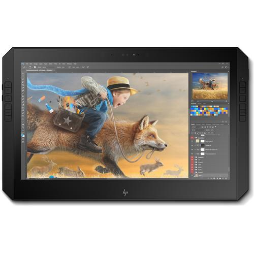 "HP ZBook x2 G4 Mobile workstation Silver 35.6 cm (14"") 3840 x 2160 pixels Touchscreen 8th gen Intel® Core™ i7 32 GB DDR4-SDRAM 1000 GB SSD NVIDIA® Quadro® M620 Wi-Fi 5 (802.11ac) Windows 10 Pro product photo  L"