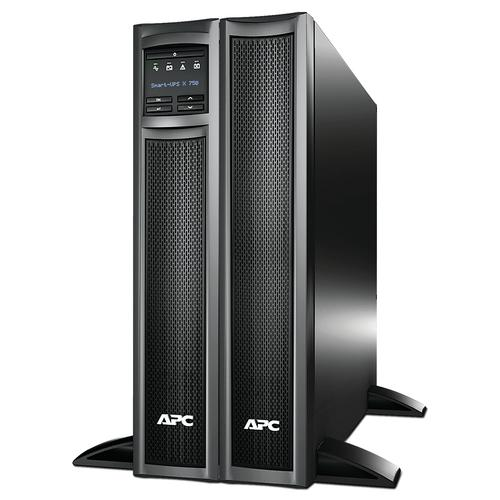 APC Smart-UPS uninterruptible power supply (UPS) Line-Interactive 750 VA 600 W 8 AC outlet(s) product photo  L