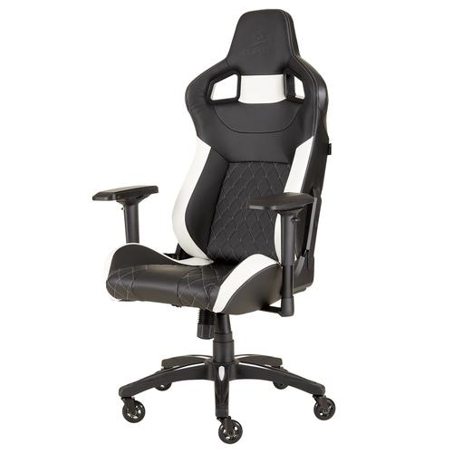 Corsair T1 Race PC gaming chair Black,White product photo  L