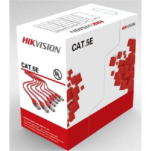 Hikvision Digital Technology DS-1LN5E-S networking cable 305 m Cat5e U/UTP (UTP) Multi product photo