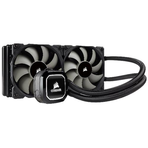 Corsair H100x computer liquid cooling product photo