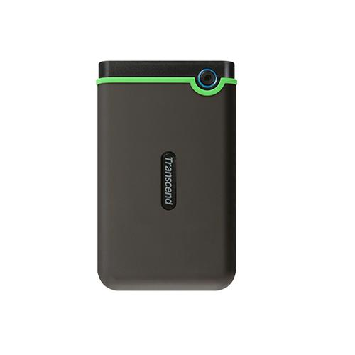 Transcend StoreJet 25M3 external hard drive 2000 GB Green,Grey product photo