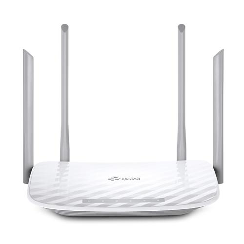 TP-LINK Archer A5 wireless router Dual-band (2.4 GHz / 5 GHz) Fast Ethernet White product photo