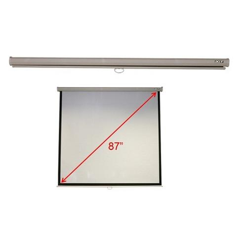 "Acer M87-S01MW projection screen 2.21 m (87"") 1:1 product photo  L"