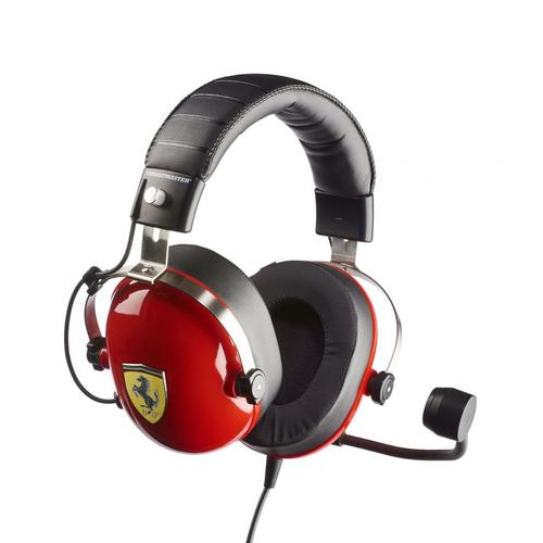 Thrustmaster New! T.Racing Scuderia Ferrari Edition Binaural Head-band Black,Red product photo