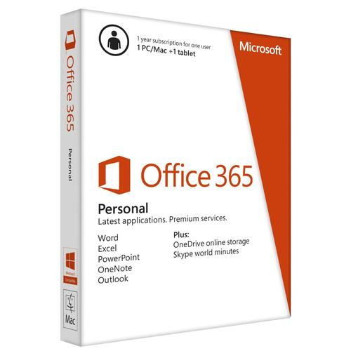 Microsoft Office 365 Personal 1 license(s) 1 year(s) French product photo