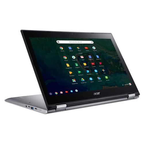 "Acer Chromebook CP315-1H-C7FR Silver 39.6 cm (15.6"") 1920 x 1080 pixels Touchscreen Intel® Celeron® N3450 4 GB LPDDR4-SDRAM 64 GB eMMC product photo"