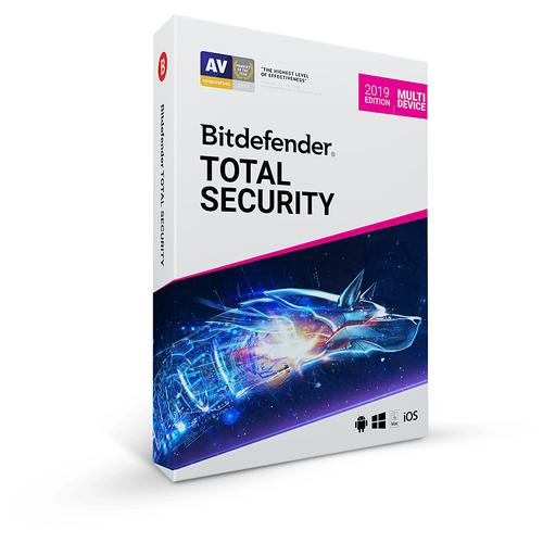 Bitdefender Total Security Base license 1 license(s) 2 year(s) product photo  L