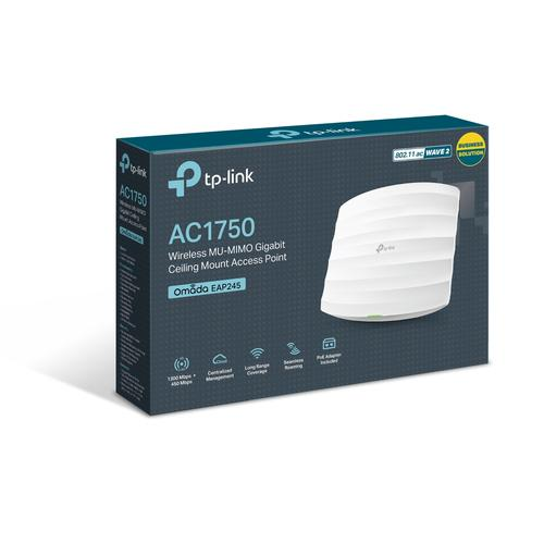 TP-LINK AC1750 Wireless MU-MIMO Gigabit Ceiling Mount Access Point product photo  L