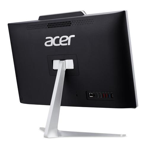 "Acer Aspire Z24-891 I5428 BE 60.5 cm (23.8"") 1920 x 1080 pixels Touchscreen 8th gen Intel® Core™ i5 i5-8400T 8 GB DDR4-SDRAM 256 GB SSD Black,Silver All-in-One PC product photo  L"