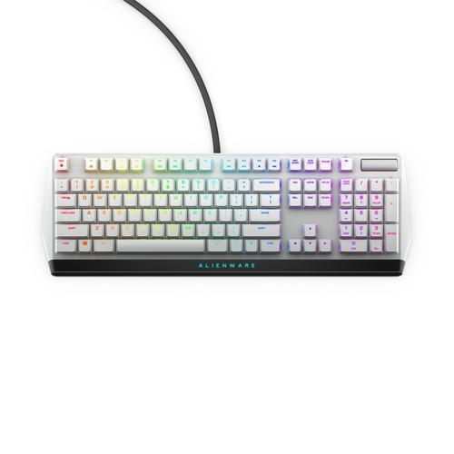Alienware AW510K keyboard USB Black, White product photo  L