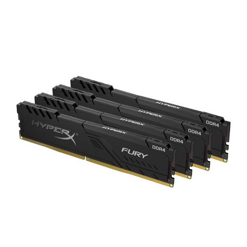 HyperX FURY HX432C16FB3K4/16 memory module 16 GB 4 x 4 GB DDR4 3200 MHz product photo  L