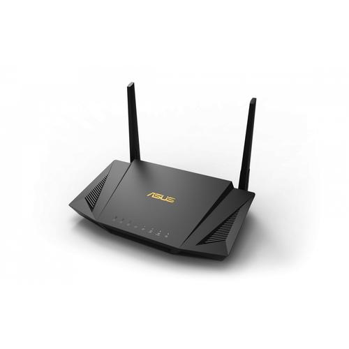 ASUS RT-AX56U wireless router Gigabit Ethernet Dual-band (2.4 GHz / 5 GHz) Black product photo