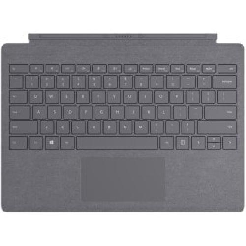 Microsoft Surface Pro Signature Type Cover mobile device keyboard QWERTY English Charcoal product photo