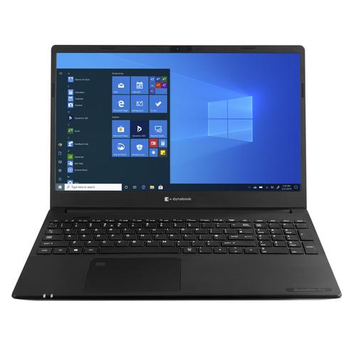 "Dynabook Satellite Pro L50-G-11J Notebook Black 39.6 cm (15.6"") 1920 x 1080 pixels 10th gen Intel® Core™ i5 8 GB DDR4-SDRAM 1256 GB HDD+SSD Wi-Fi 6 (802.11ax) Windows 10 Pro product photo"
