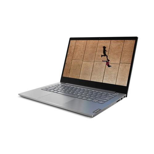 "Lenovo ThinkBook 14 Notebook Grey 35.6 cm (14"") 1920 x 1080 pixels 10th gen Intel® Core™ i7 16 GB DDR4-SDRAM 512 GB SSD Wi-Fi 6 (802.11ax) Windows 10 Pro product photo"